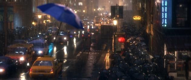 Technischer Durchbruch: The Blue Umbrella