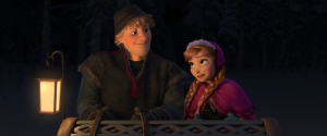 """FROZEN"" (L-R) KRISTOFF and ANNA. ©2013 Disney. All Rights Reserved."